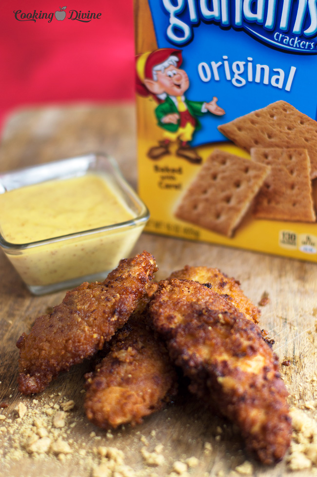 Honey-Graham-Cracker-Chicken-Fingers