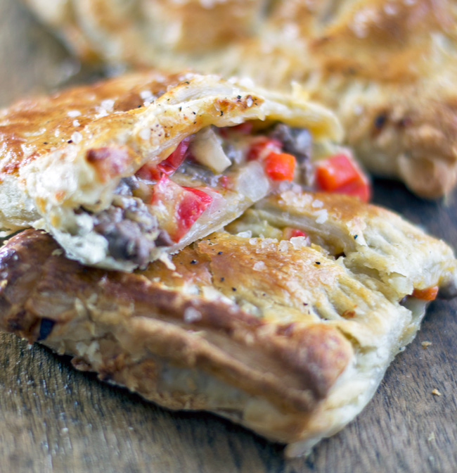Cheese-Steak-Puff-Pastry
