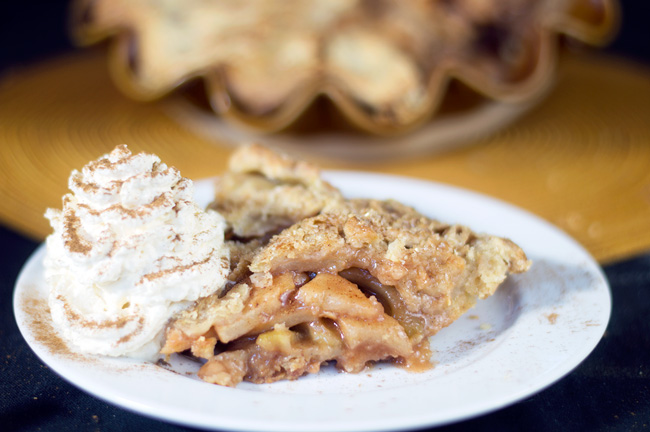 Cheddar Apple Pie